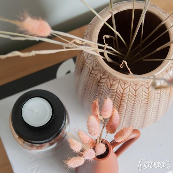 Roze lagurus, hazenstaartjes roze, droogbloemen | Nanaa's Online Conceptstore