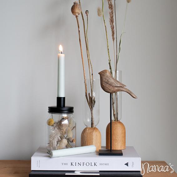 Kandelaar droogbloemen, droogbloemenpotje | Nanaa's Online Conceptstore