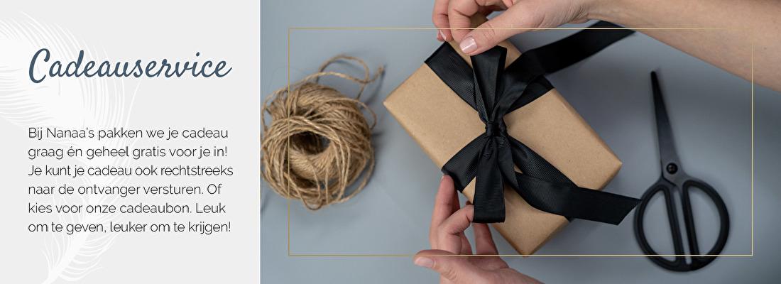 Gratis cadeauservice, cadeau gratis inpakken, interieurcadeau, interieurcadeautje | Nanaa's
