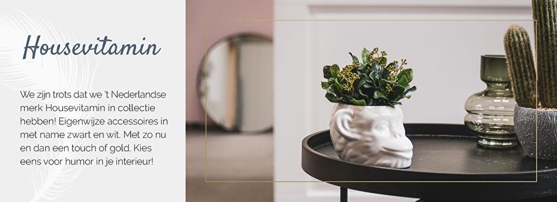 Grappige woonaccessoires van Housevitamin, merk Housevitamin, woonaccessoires zwart wit | Nanaa's Online Conceptstore