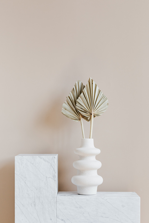 Marmer in je interieur, palmbladeren | Nanaa's