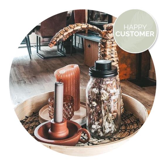 Nanaa's happy customers, droogbloempotje | Nanaa's