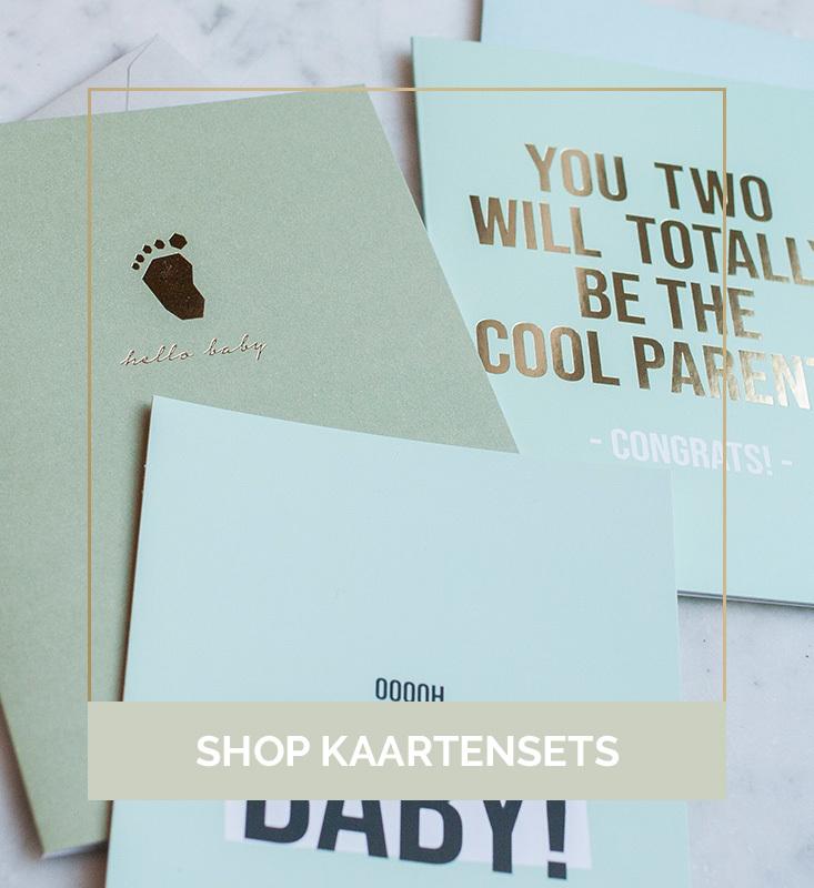Leuke kaartjes, kaartensets, kaartenset, kaartsensets kopen | Nanaa's