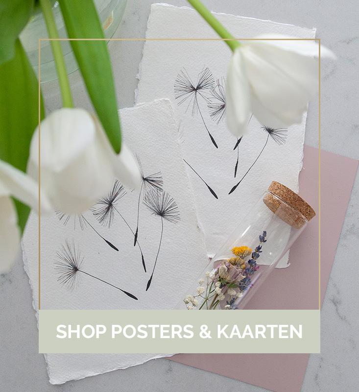 Posters en kaarten kopen, interieur posters, interieur kaarten, bureau accessoires kopen, kerstkaarten kopen | Nanaa's