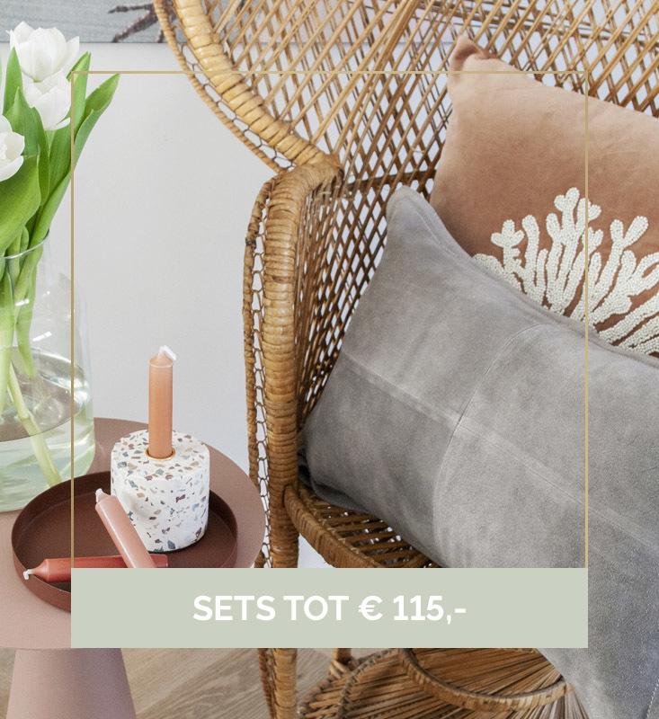 Nanaa's interieursets, interieurset, set woonaccessoires, A la Collection | Nanaa's