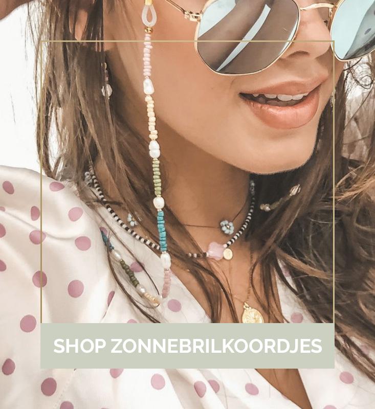 Zonnebrilkoordjes, zonnebrilkoordje, zonnebrillenkoordjes kopen, zonnebrilkoordjes online, Boho-Beach | Nanaa's
