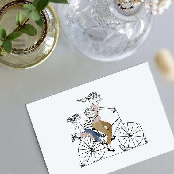 Moederdagkaarten, Moederdagkaart, kaartje voor Moederdag | Nanaa's Online Conceptstore