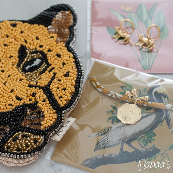 Sieradenset, Ala Collection, A la Collection sieraden, luipaard sieraden, A la Collection leopard | Nanaa's Online Conceptstore