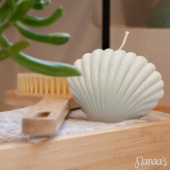 Soja kaars, sojawax kaarsen, schelpkaarsen, schelpkaars, vormkaarsen | Nanaa's Online Conceptstore