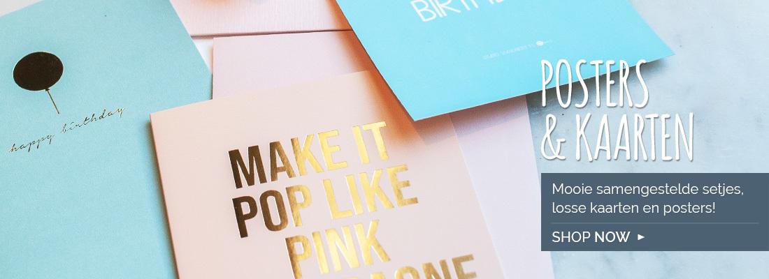 Posters & kaarten: mooie samengestelde setjes, losse kaarten en posters!