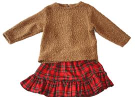 Schotse ruitrokje met sweater
