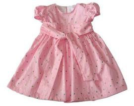 Prachtige roze kinderjurkje