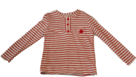 Gestreepte jongens sweater