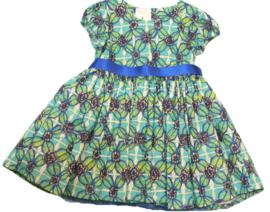 Prachtige dessin jurkje met petticoat