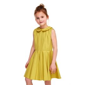 Green flower jurk