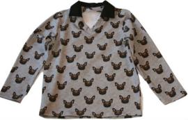 Jongens sweater in hondmotief