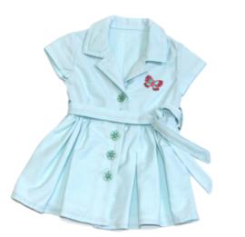 Lieflijk baby jurkje in pastel