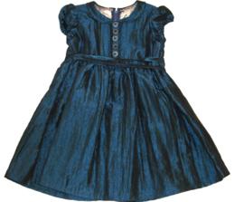 Jurkje voor een prinsesje in blauwe taft