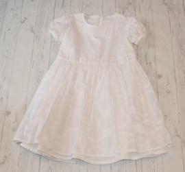 Feestelijke jurk  van prachtig reliëfkatoen
