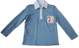 Tricot jongensshirt  met applicatie