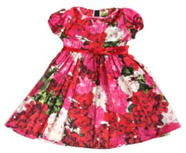 Feestelijk gebloemd jurkje met bolero en losse petticoat
