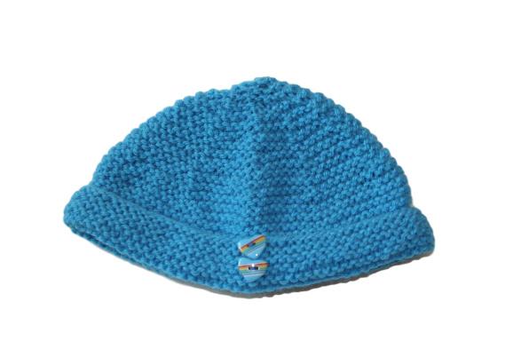 Blauwe muts