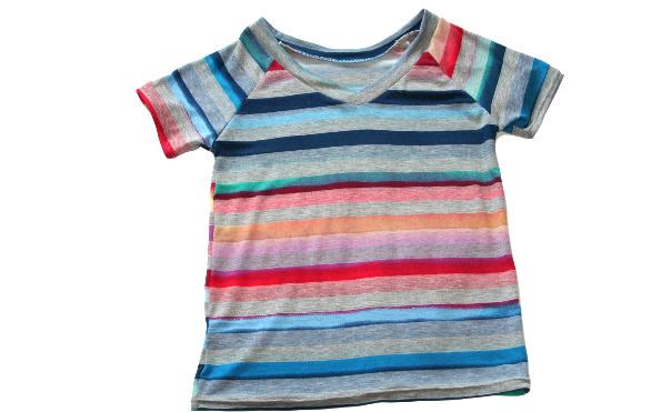 Leuk gestreept jongens t-shirt