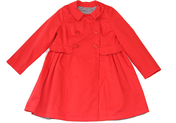 Meisjes zomerjas in rood
