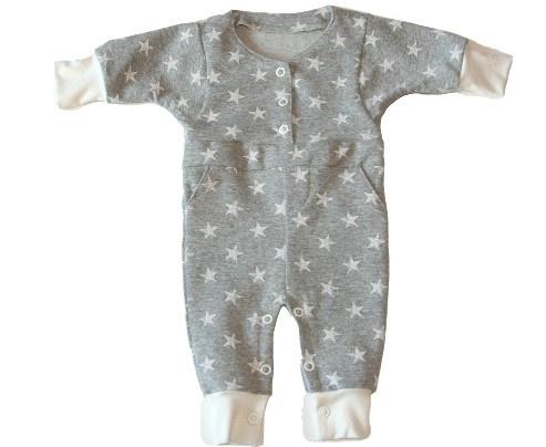 Babypakje met sterretjes