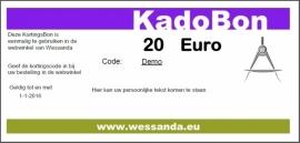 KadoBon 20,-