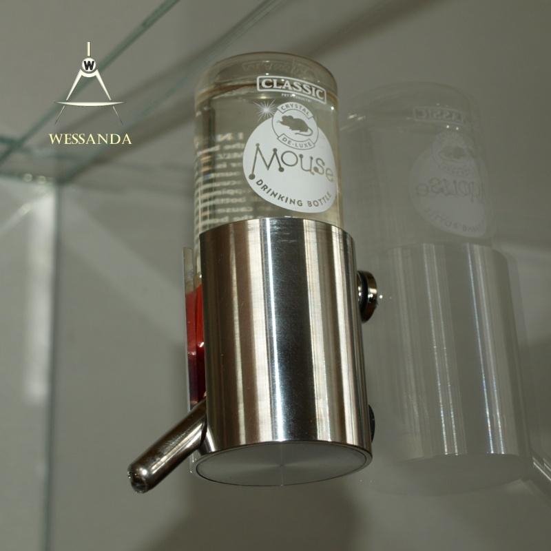 Magnetische Drinkfleshouder, gesloten