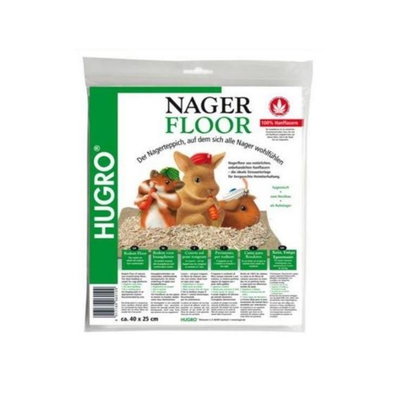 Nager Floor - Hennep Mat  40x25cm