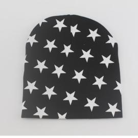 Zwart met witte sterren (1-2 jaar)