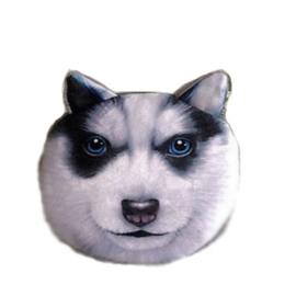 Husky-portemonnee (10 x 10 cm)
