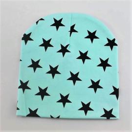 Blauw met zwarte sterren (1-2 jaar)