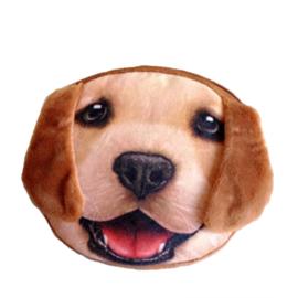 Hondenportemonnee met lange oren (10 x 10 cm)