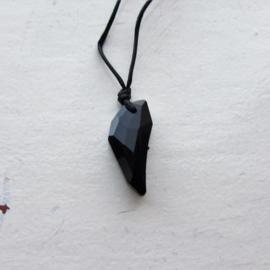 Zwarte kristal