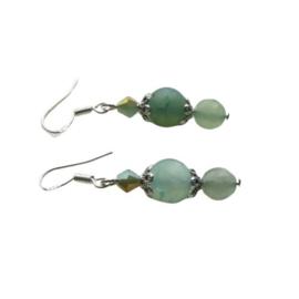 Jade met kristal