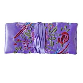 Sieradenrol van lila Chinese zijde