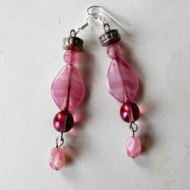 Roze glas