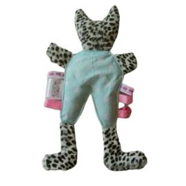 Panter met blauwe pyjama (droomkussentje)