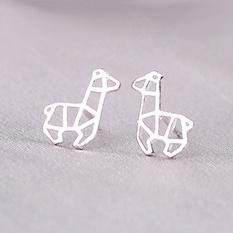 Zilveren lama's