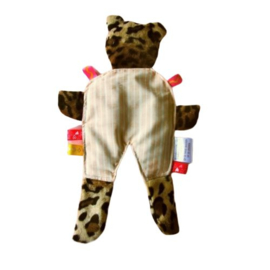 Bruine beer met knisperkop (droomkussentje)