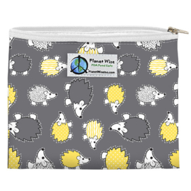 Planet Wise XS Wetbag (oder Snackbag) - Hedgehog Poly