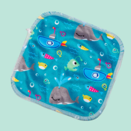 Cheeky wipes - Bamboo Minky Feuchttücher Whale of a time (25 st)