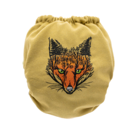 Doodush Wollüberhose Fox (Snaps) - Onesize