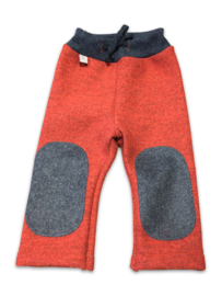 Hu-da wollen Walk-longie - Oranje-grijs