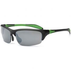 Real Kids Shades Sonnenbrille Blade Black & Lime (10+ Jahre)