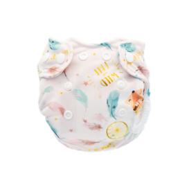 Doodush Newborn Überhose Pink Boho