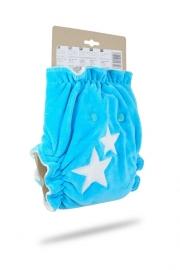 Petit Lulu Maxi/Night Fluffy Organic - drukknopen (7-16kg) (lenen)